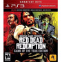 Red Dead Redemption Game Of The Year Edition Ps3 Lacrado