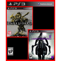 Combo Darksiders 1 E Darksiders 2 Ps3 Psn Promocao!!