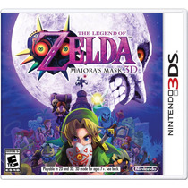 Jogo Novo The Legend Of Zelda Majoras Mask Para Nintendo 3ds