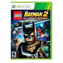 Lego Batman 2 Dc Super Heroes Xbox 360 Legendado + Brinde