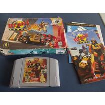 Blast Corps Original Completo Nintendo 64