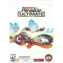 Burnout Paradise The Ultimate Box Pc Dvd Rom Lacrado