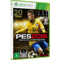 Pes 2016 Xbox 360 Midia Fisica Pro Evolucion Soccer Pt Brasi