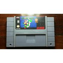 Cartucho Super Mario World Paralelo Não Salva Super Nintendo