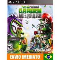 Plants Vs Zombies Garden Warfare Ps3 Código Psn - Português