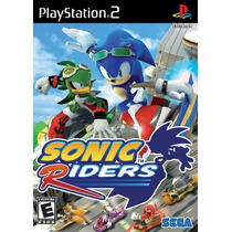 Patch Sonic Riders Ps2 Frete Gratis