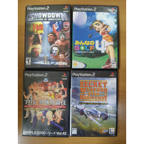 Lote De Jogos Playstation 2 Original