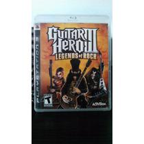 Guitar Hero 3 Legends Of Rock - Ps3 - Usado (leia O Anuncio)