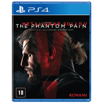 Jogo Metal Gear Solid V: The Phantom Pain Para Playstation 4
