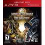 Jogo Mortal Kombat Vs Dc Universe Para Playstation 3 - Novo
