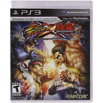 Jogo Street Fighter X Tekken Ps 3