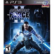 Jogo Ps3 - Star Wars Force Unleashed 2 - Usado