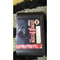Cartucho Mega Drive Video Game - Mortal Kombat 2 Original