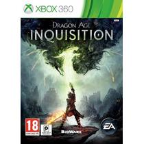 Dragon Age Inquisition Jogo Xbox 360 Original Lacrado