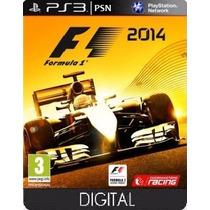 F1 2014 - Mídia Digital Psn - Jogo Ps3 - Loja Oficial