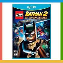Lego Batman 2 Dc Super Heroes Wii U - Original