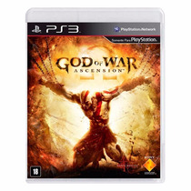God Of War Ascension Ps3 Em Português Mídia Física + Brinde