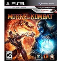 Mortal Kombat 9 Ps3 Digital Mk9
