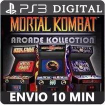 Mortal Kombat Arcade Kollection Ps3 Playstation Psn Digital