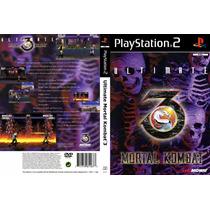 Ultimate Mortal Kombat 3 - Playstation 2 - Frete Gratis.