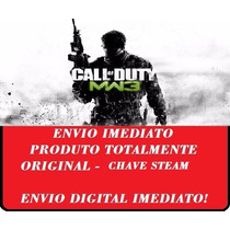 Call Of Duty: Modern Warfare 3 Mw3 Chave Steam Oficial