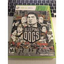 Jogo Xbox 360 Sleeping Dogs Original Mídia Física Barato !!!