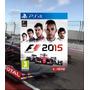 Formula 1 2015 Ps4 Código Psn F1 15 Secundário Original 2