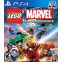 Jogo Ps4 - Lego Marvel Super Heroes - Novo