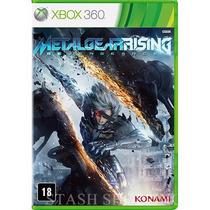 Jogo - Game Metal Gear Rising Revengeance - Mídia - Xbox 360