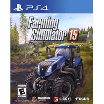 Jogo Em Português Farming Simulator 15 Para Playstation Ps4