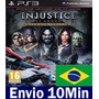 Injustice Gods Among Us Ultimate Edition Play3 Ps3 Psn Bra