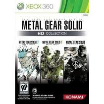 Jogo Xbox 360 Metal Gear Hd Collection Em Perfeito Estado