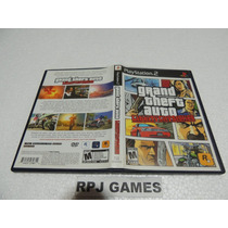 Gta San Liberty City Original Completa P/ Ps2 - Frete R$ 8