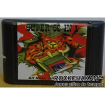 52 Super Jogos Em Um Só Catucho P/ Mega Drive - Sega Genesis