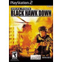 Jogo Ps2 - Delta Force - Black Hawk Down