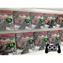 Dead Island Goty Ps3 Novo, Lacrado - Mídia Fisica - Game Of