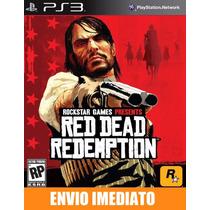 Red Dead Redemption Ps3 Código Psn Envio Agora