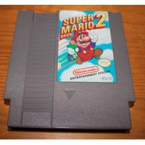 Super Mario Bros. 2 Nes Nintendinho Original Americano