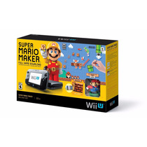 Wii U Bundle Super Mario Maker - Console + Jogo + Amiibo