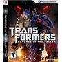 Jogo Transformers Revenge Para Ps3 /semi Novo/ Barato!!!!