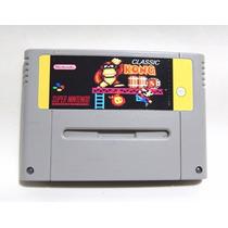 Classic Kong Super Nintendo Snes Antigo Donkey Kong