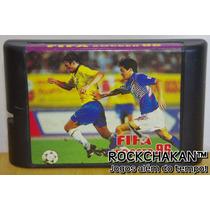 Fifa Soccer 96 - Futebol - Copa Do Mundo - Jogo - Mega Drive