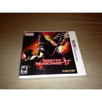 Resident Evil The Mercenaries 3d Lacrado