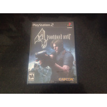 Novo Jogo Game Playstation 2 Resident Evil 4 Ps2 Tarja Preta