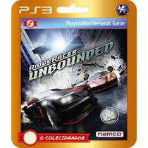 Ridge Racer Unbounded Special Edition (código Ps3)