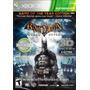 Jogo Xbox 360 Batman Arkham Asylum Em 3d Novo Original