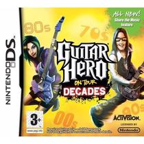 Jogo Nintendo Ds Guitar Hero On Tour Decades Original