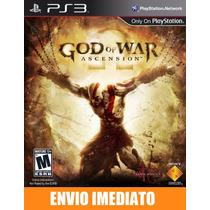 Online Pass - God Of War Ascension - Ps3 - Psn - Envio Agora