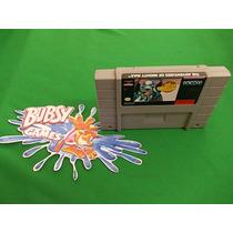 Super Nintendo - The Adventures Of Mighty Max Original