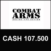 Combat Arms - Cartão De 107.500 Cash - Level Up - Imediato